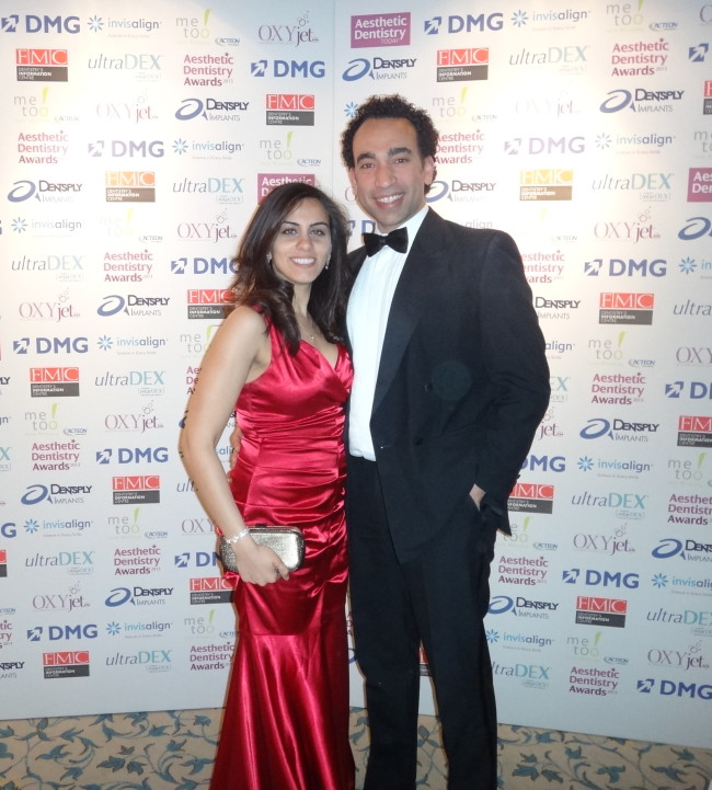 aesthetic dentistry award